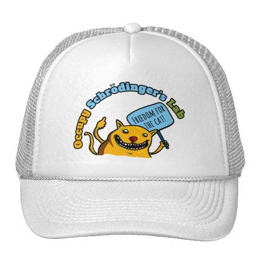 Occupy Schrodinger's Lab Mesh Hats