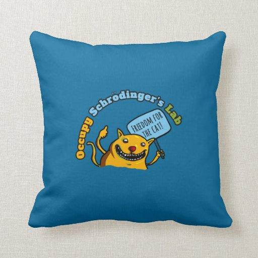 Occupy Schrodinger's Lab Pillow