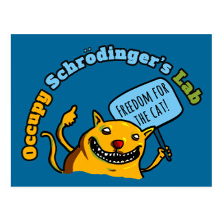 Occupy Schrodinger's Lab Postcard