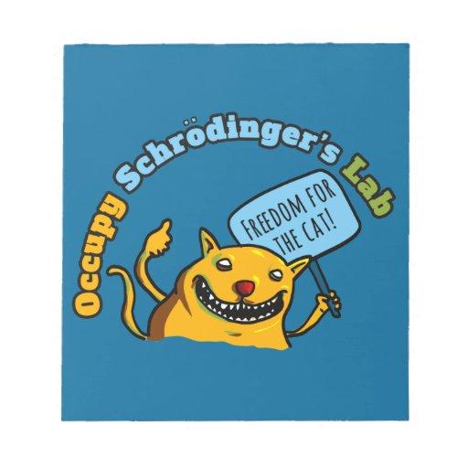 Occupy Schrodinger's Lab Scratch Pads