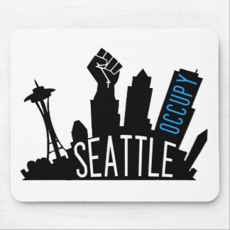 Occupy Seattle Mouse Pad