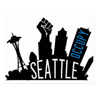 Occupy Seattle Postcard