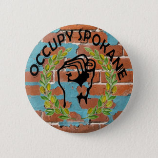 OCCUPY SPOKANE PINBACK BUTTON