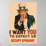 Occupy Spokane Poster