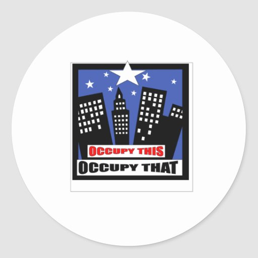 occupy stickers