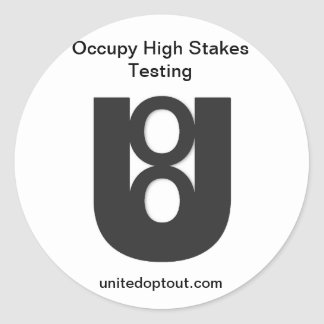 Occupy Testing Stickers