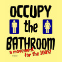 Occupy the Bathroom shirt