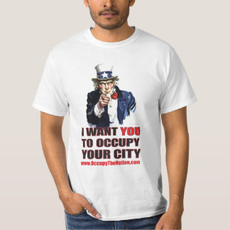 Occupy The Nation - Uncle Sam Shirt
