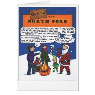 Occupy the North Pole! Card