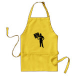Occupy The Planet Sign Aprons