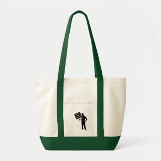 Occupy The Planet Sign Tote Bag