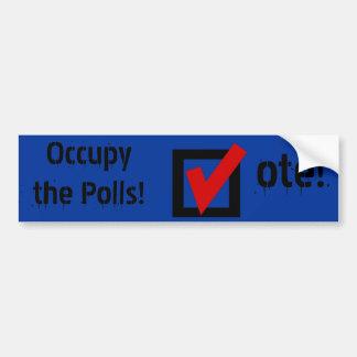 Occupy the Polls! Bumper Sticker
