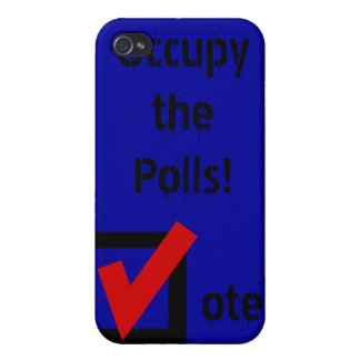 Occupy the Polls! Case For iPhone 4
