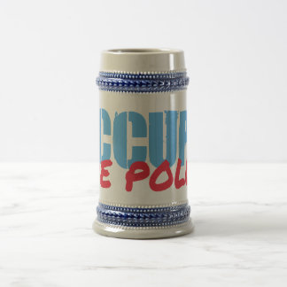 Occupy the Polls 18 Oz Beer Stein