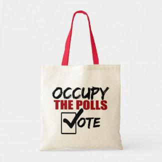 occupy the polls vote tote bag