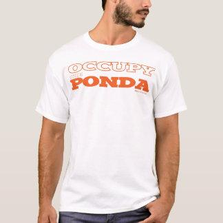 Occupy the Ponda (white) T-Shirt