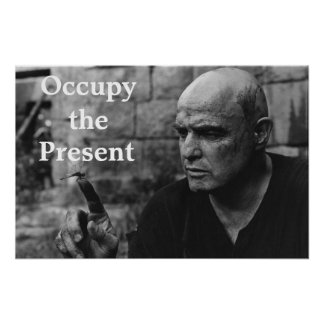 Occupy the Present Poster