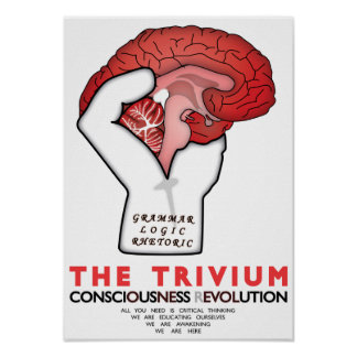 Occupy The Trivium Poster