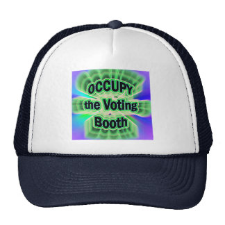 Occupy the Voting Booth Hat