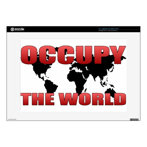 Occupy the World Skin For Laptop
