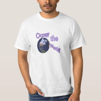Occupy the World T-Shirt (Front Only) (MultiColor)