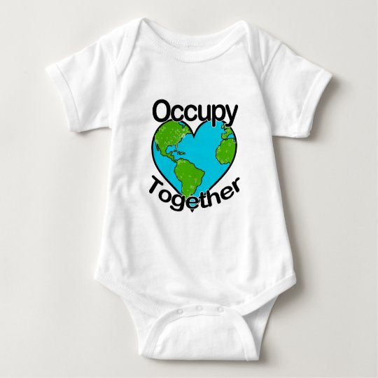 Occupy Together Baby Bodysuit