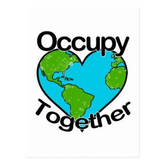 Occupy Together Postcard