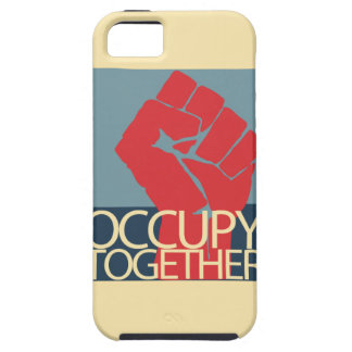 Occupy Together Protest Art Occupy Wall Street iPhone SE/5/5s Case