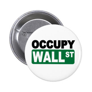 Occupy Wall St. Button