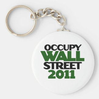 Occupy Wall St Keychain