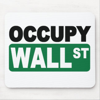 Occupy Wall St. Mouse Pad