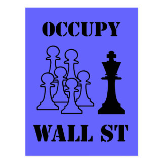 Occupy Wall St Postcard