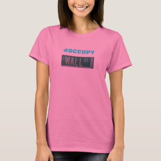 #OCCUPY WALL ST T-Shirt