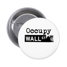 Occupy Wall Street -  100% donation OWS 2 Inch Round Button