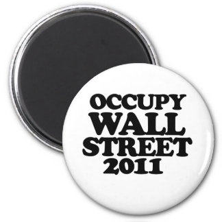 Occupy Wall Street 2011 2 Inch Round Magnet
