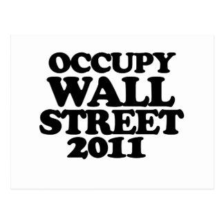 Occupy Wall Street 2011 Postcard