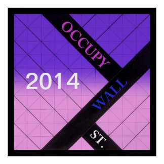 occupy wall street 2014 poster