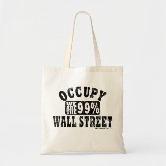 Occupy Wall Street 99% Tote Bag