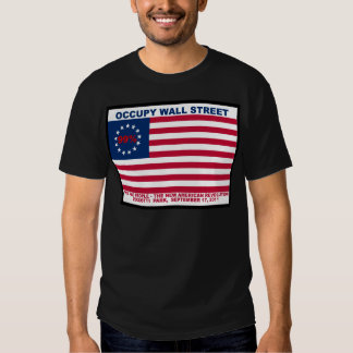 Occupy Wall Street 99% Zuccotti Park Tee Shirt