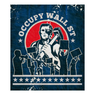 Occupy Wall Street America Poster