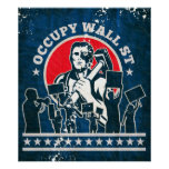 Occupy Wall Street America Posters