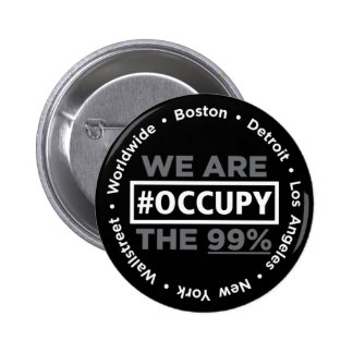 Occupy Wall Street and Worldwide Button