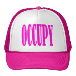 Occupy Wall Street Any Street Any Town Hats
