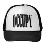 Occupy Wall Street Any Street Any Town Mesh Hat