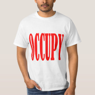 Occupy Wall Street Any Street Any Town T-Shirt