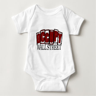 Occupy Wall Street Baby Bodysuit