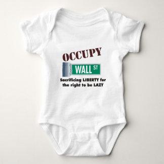 occupy wall street baby bodysuit