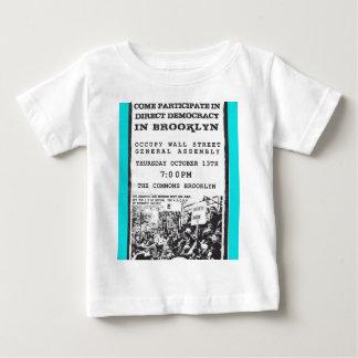 Occupy Wall Street Brooklyn Rally Flyer T Shirts