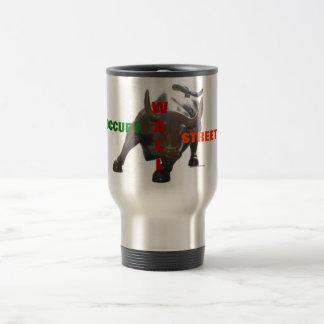 Occupy Wall Street Bull Mug 1