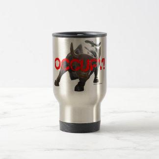 Occupy Wall Street Bull Mug 2